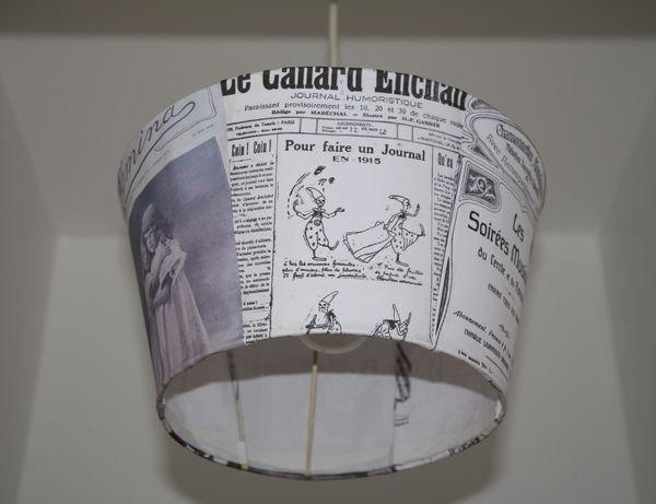 Journal claireur le 27 oct 15 la maison des hippos - Recouvrir un abat jour avec du papier ...
