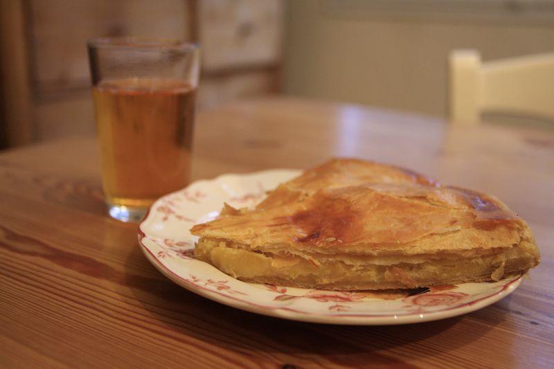 galette amandes pommes 3