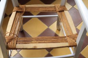 rempaillage chaise 2