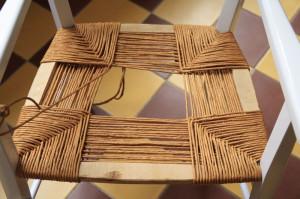 rempaillage chaise 3