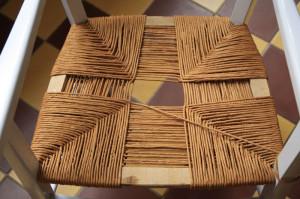 rempaillage chaise 4