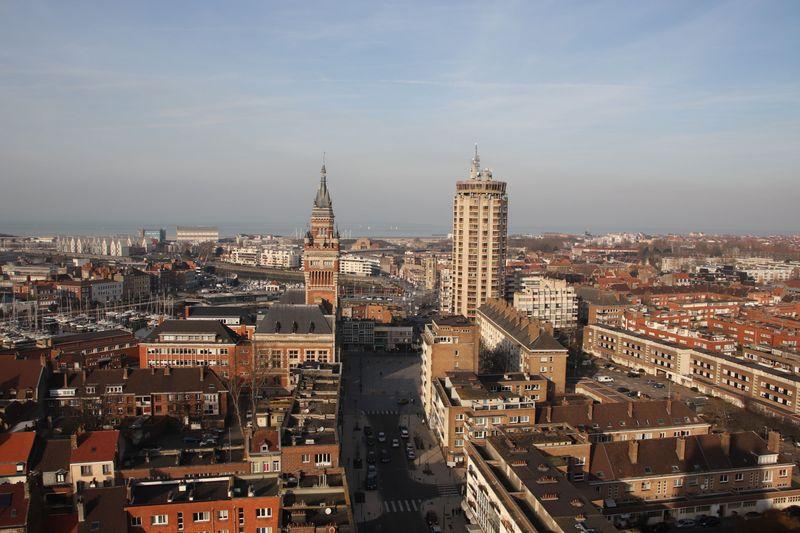vue beffroi Dunkerque 1