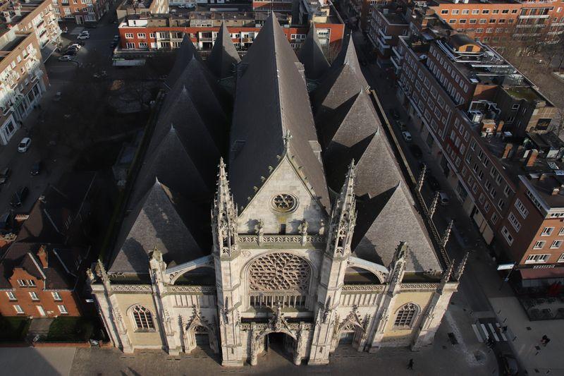 vue beffroi Dunkerque 2