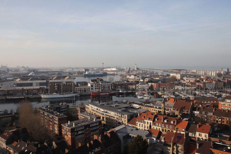 vue beffroi Dunkerque 3